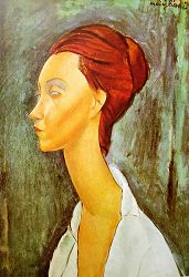 portrait modigliani
