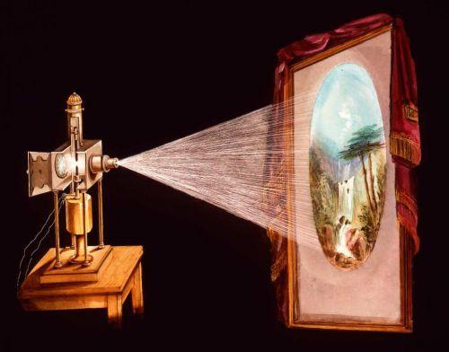 lanterne magique cin math que fran aise lanterne magique et film peint. Black Bedroom Furniture Sets. Home Design Ideas