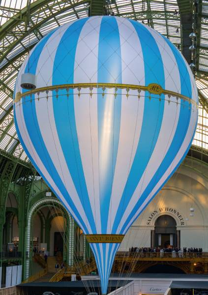 Biennale Au Grand Palais  Restauration