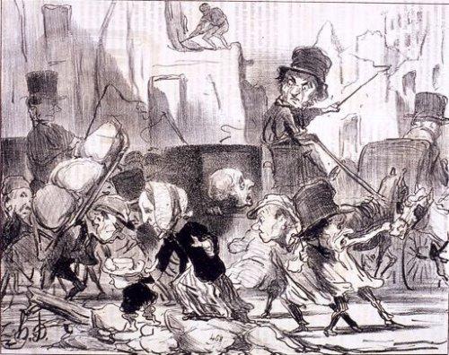 Daumier, Steinlen, Toulouse-Lautrec, la Vie au quotidien Daumier