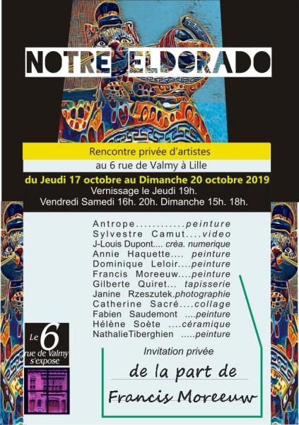 Exposition Notre Eldorado A Lille Francis Moreeuw