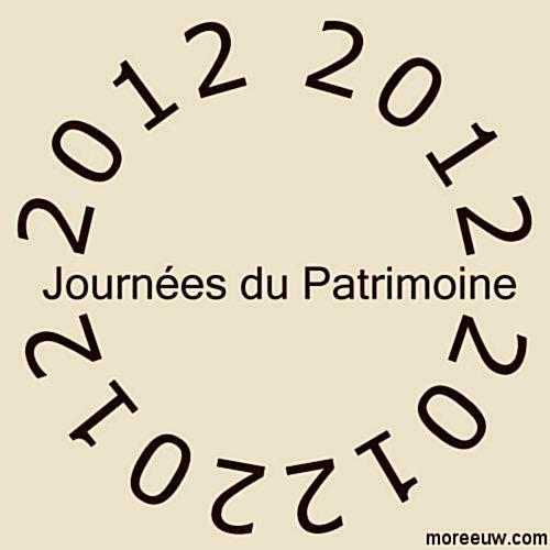 journ es du patrimoine 2012 dates et theme journees patrimoine 2012 paris. Black Bedroom Furniture Sets. Home Design Ideas