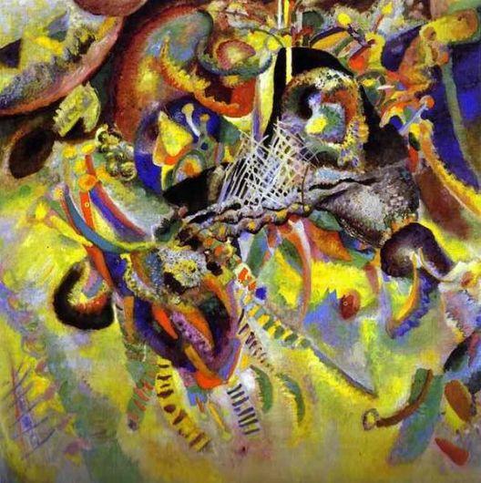 achat tableau kandinsky