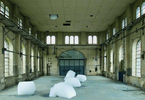 Michel Blazy sculptures vivantes contemporaines Michel-blazy