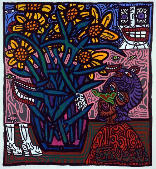 peinture Robert Combas