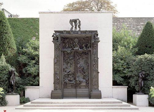 Rodin corps et d cors exposition mus e rodin paris - L encadrure de la porte ...