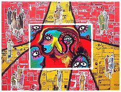 tableaux contemporains de l 39 artiste contemporain francis moreeuw tableau et peinture. Black Bedroom Furniture Sets. Home Design Ideas